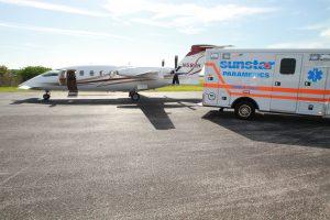 Air Ambulance Company Bradford UK
