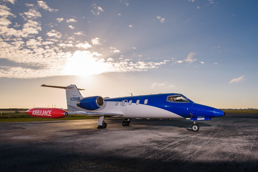 Exterior Learjet