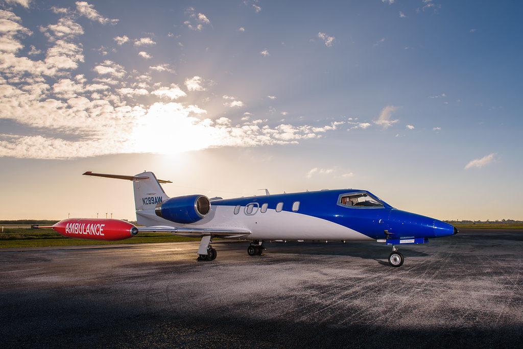 Exterior Learjet