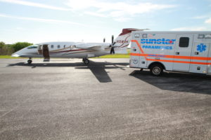 Coronavirus Medical Flight