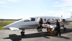 Emergency Patient Travel from South America